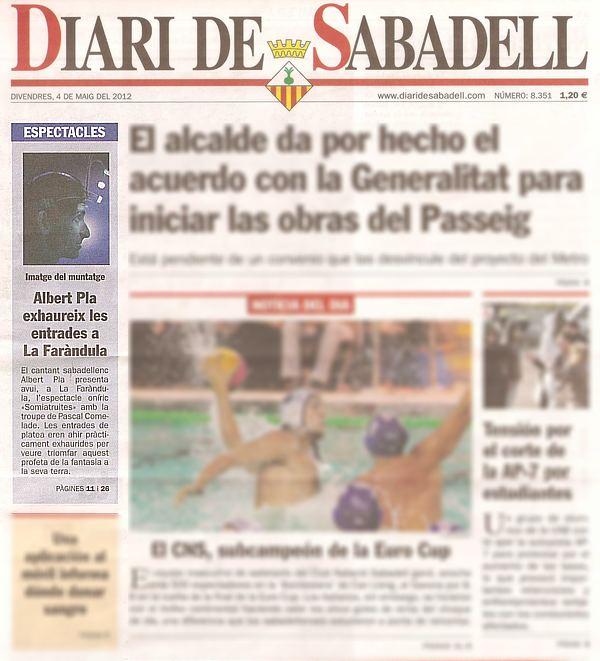 Diari de Sabadell: Albert Pla exhaureix les entrades a La Faràndula